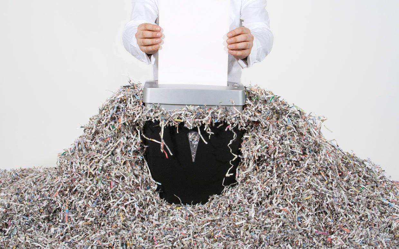 la Destrucción de Documentos