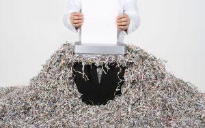 Clasificación de la Destrucción de Documentos
