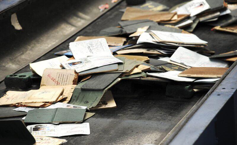 Primer Operativo de Eliminación de Documentos Antiguos en Argentina